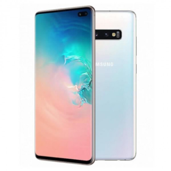 Galaxy S10+ 128 Go Dual Sim - BLANC