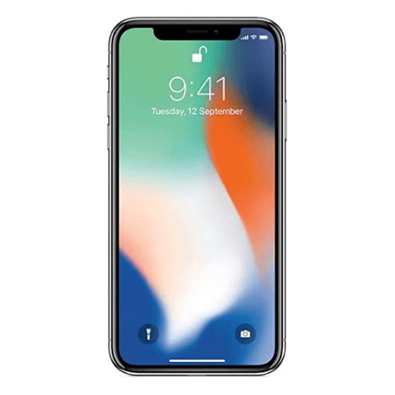 iPhone X 64 Go - Argent