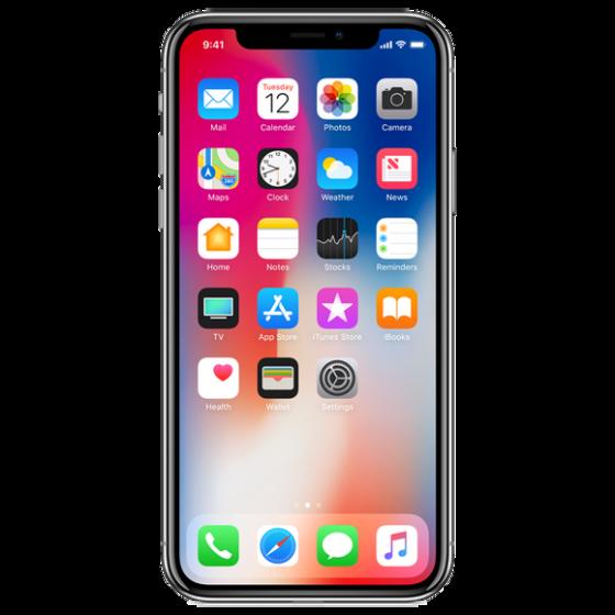 iPhone X 64 Go - Gris Sidéral