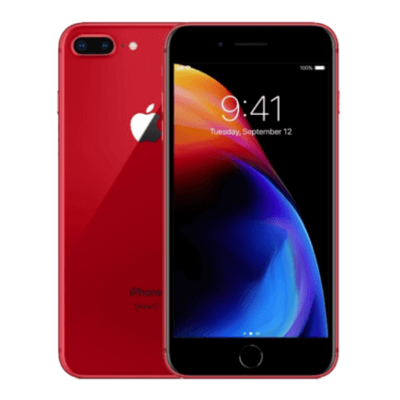 iPhone 8 Plus 64 Go - Rouge