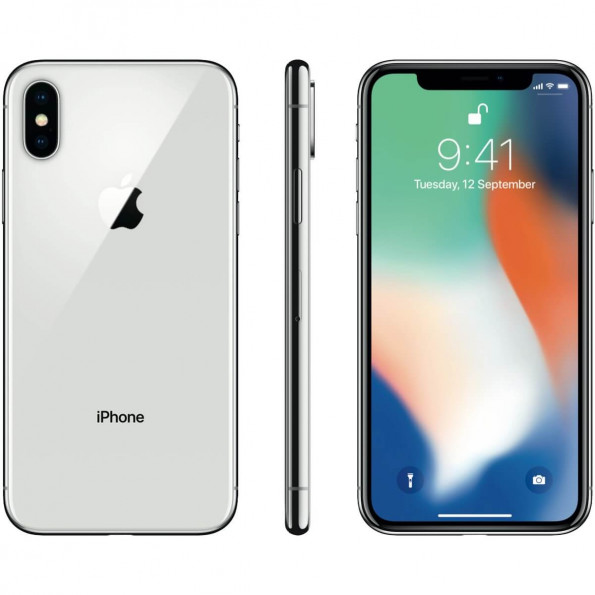 iPhone X 64 Go - Argent