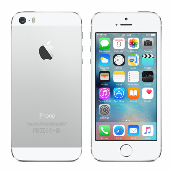 iPhone 5S 16 Go - Argent