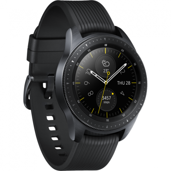 SAMSUNG GALAXY WATCH 42 MM R815  4GB NOIR